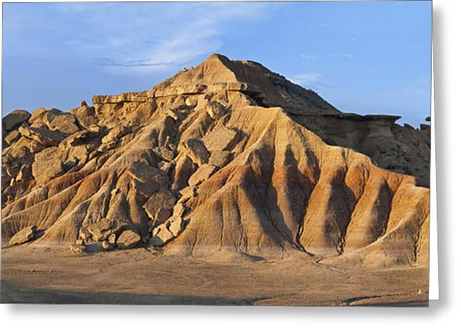 Rock Formation Bardenas Reales Navarra Greeting Card by Albert Lleal