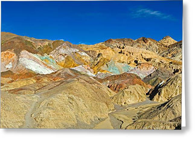 Landscape Artist Greeting Cards - Rock Formation On A Landscape, Artists Greeting Card by Panoramic Images