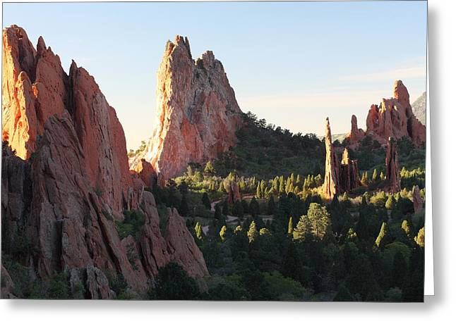 Rock of Ages Greeting Card by Eric Glaser