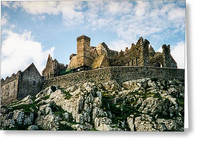 Stone Chimney Greeting Cards - Rock of Chashel 100 Greeting Card by Douglas Barnett