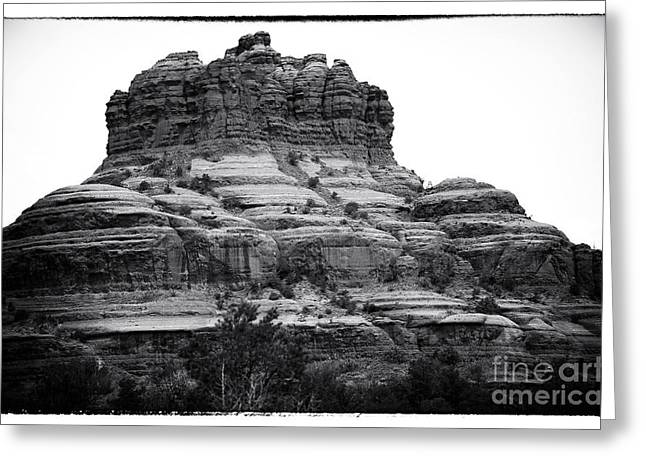 Bell Rock Greeting Cards - Rock Shaped like a Bell Greeting Card by John Rizzuto