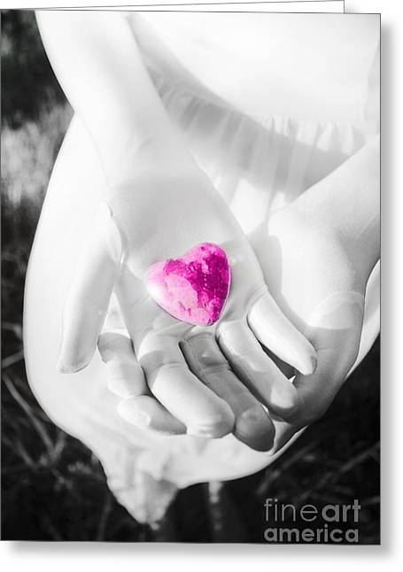 Valentine Gift Ideas Greeting Cards - Rock Solid Love Greeting Card by Ryan Jorgensen
