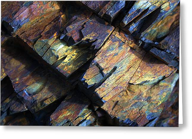 Abstract Nature Greeting Cards - Rock Texture 2 Greeting Card by Bill Caldwell -        ABeautifulSky Photography