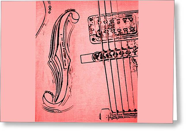 Hardware Greeting Cards - Rockin the Pink for Cancer Greeting Card by Chris Berry