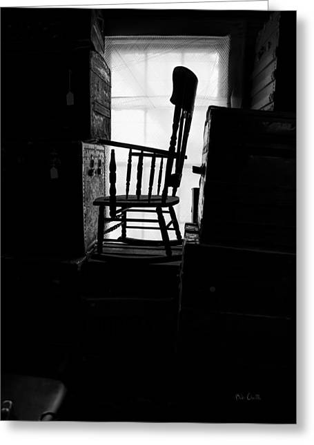 Steamer Truck Greeting Cards - Rocking Chair Greeting Card by Bob Orsillo