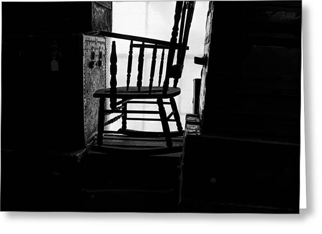 Rocking Chair Greeting Card by Bob Orsillo