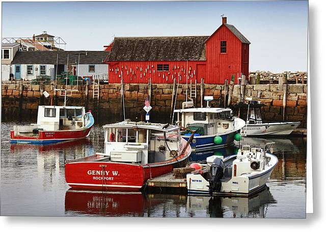 Rockport Ma Greeting Cards - Rockport Ma Greeting Card by Christian Anderson