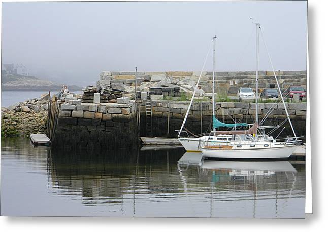New England Ocean Greeting Cards - Rockport MA1 Greeting Card by Marwan George Khoury