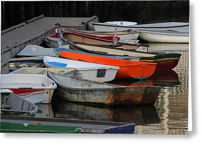 Rockport Massachusetts Greeting Card by Juergen Roth