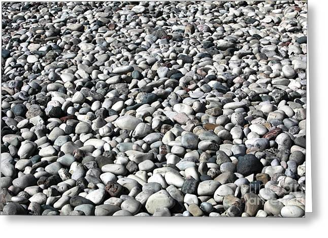 Recently Sold -  - Greek School Of Art Greeting Cards - Rocks of the Greek Greeting Card by John Rizzuto