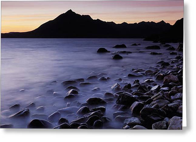 Beach Photography Greeting Cards - Rocks On The Beach, Elgol Beach, Elgol Greeting Card by Panoramic Images