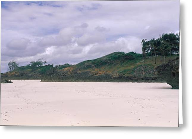 Marine Photography Greeting Cards - Rocks On The Beach, Watamu Marine Greeting Card by Panoramic Images