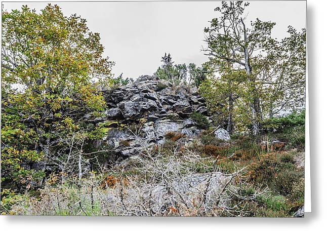 Green Day Greeting Cards - Rocks Greeting Card by Tilyo Rusev