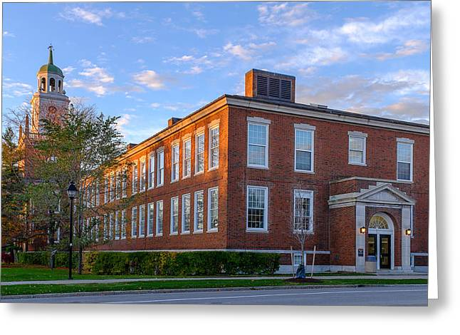 Birthday Gift Ideas Greeting Cards - Rockwell Hall Southern View Greeting Card by Chris Bordeleau