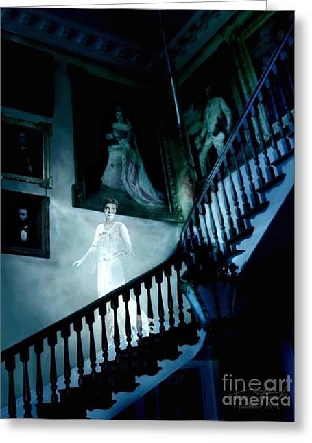 Rockwood Stairwell  Greeting Card by Tom Straub