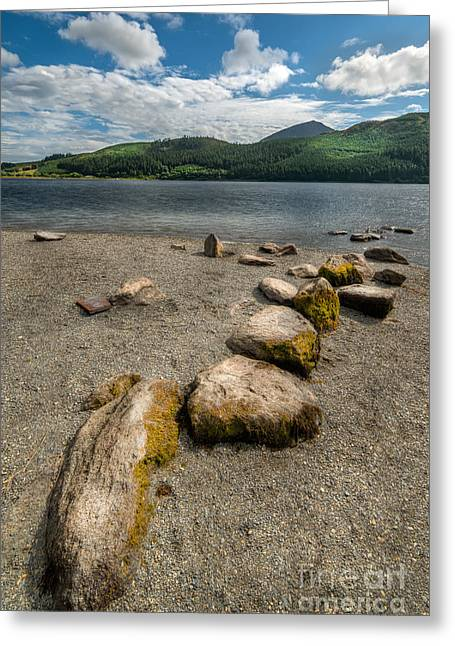 Hdr Landscape Digital Greeting Cards - Rocky Beach Greeting Card by Adrian Evans