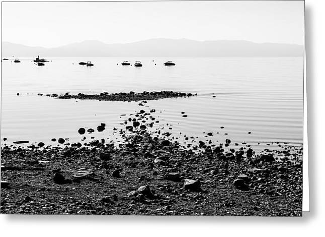Boat Greeting Cards - Rocky Beach Greeting Card by Chad Dutson