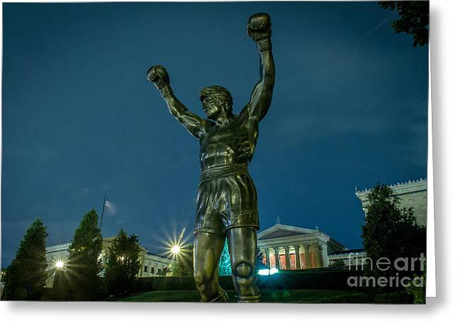 Rocky Greeting Card by David Rucker