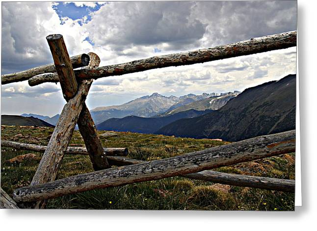 Rmnp Greeting Cards - Rocky Mountain High Greeting Card by Bill Keiran