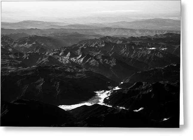 D.w. Greeting Cards - Rocky Mountain Morning Greeting Card by John Daly