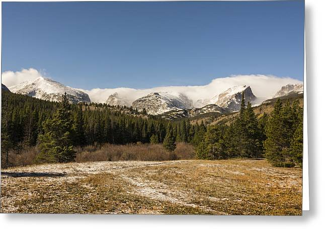 Scenic Greeting Cards - Rocky Mountain National Park - Estes Park Colorado Greeting Card by Brian Harig