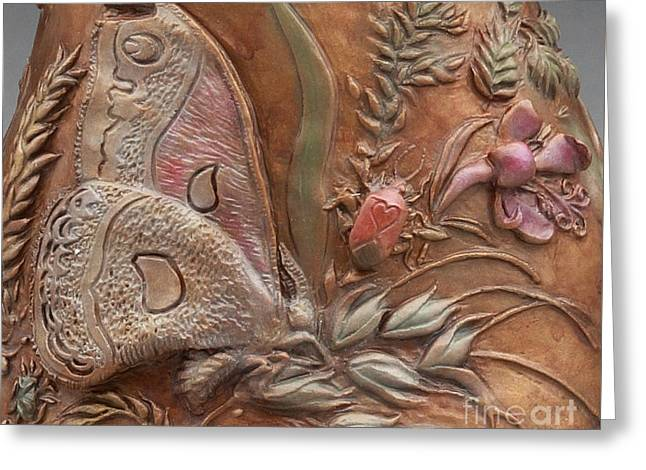 Rocky Mountain Reliefs Greeting Cards - Rocky Mountain Summer - detail Greeting Card by Dawn Senior-Trask