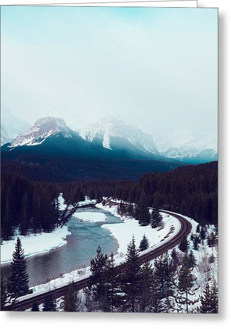 Rocky Mountains Greeting Card by Kim Fearheiley