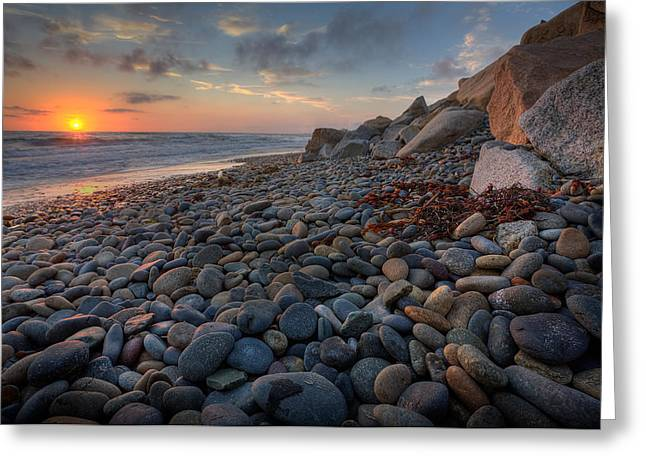 Hdr Landscape Greeting Cards - Rocky North Ponto Greeting Card by Peter Tellone
