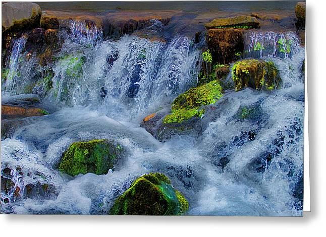 Rocky Waters Hdr Greeting Card by Joshua Dwyer