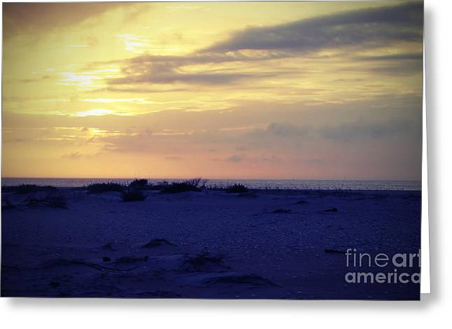 Rodanthe Greeting Cards - Rodanthe Beach Greeting Card by Cathy Lindsey