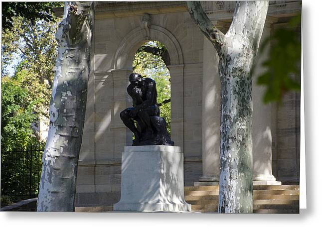Benjamin Franklin Parkway Greeting Cards - Rodin Museum - Philadelphia Greeting Card by Bill Cannon
