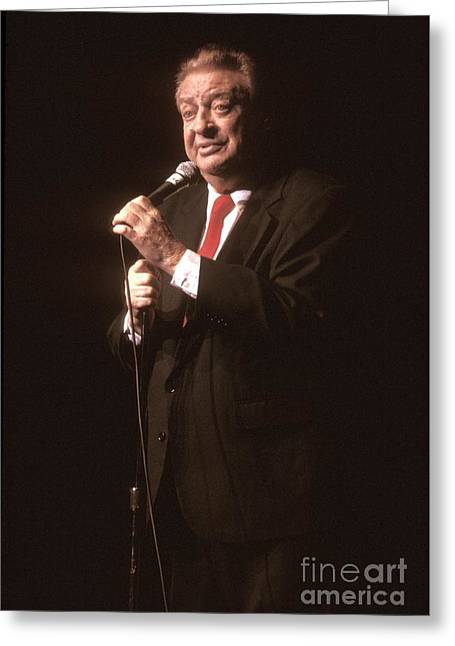 Rodney Dangerfield Greeting Card by Front Row  Photographs