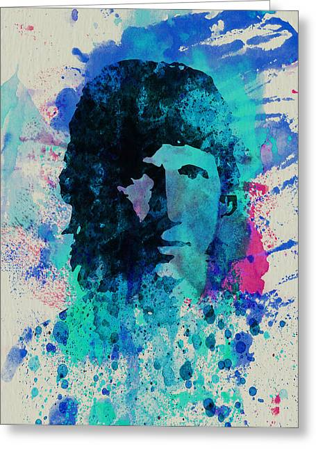 Band Digital Art Greeting Cards - Roger Waters Greeting Card by Naxart Studio