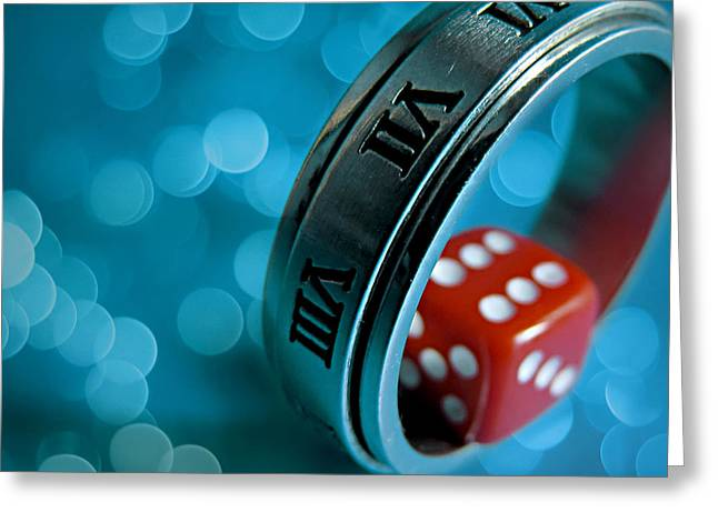 Canons Greeting Cards - Roll The Dice Greeting Card by Vesna Viden