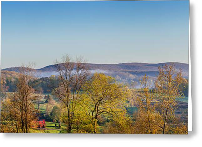 Rolling Hills Greeting Card by Bill Wakeley