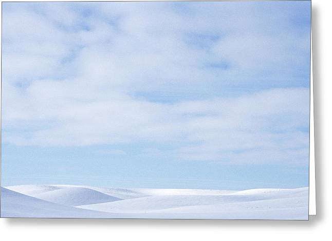 Idaho Scenery Greeting Cards - Rolling Hills Winter Greeting Card by Latah Trail Foundation
