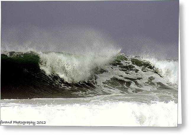 Rolling In The Deep Greeting Card by Debra Forand