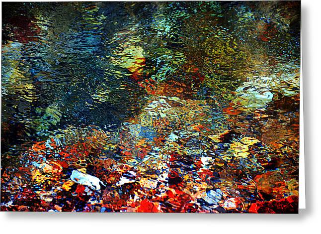 Beneath The Surface Greeting Cards - Rolling In The Deep Greeting Card by Deena Stoddard