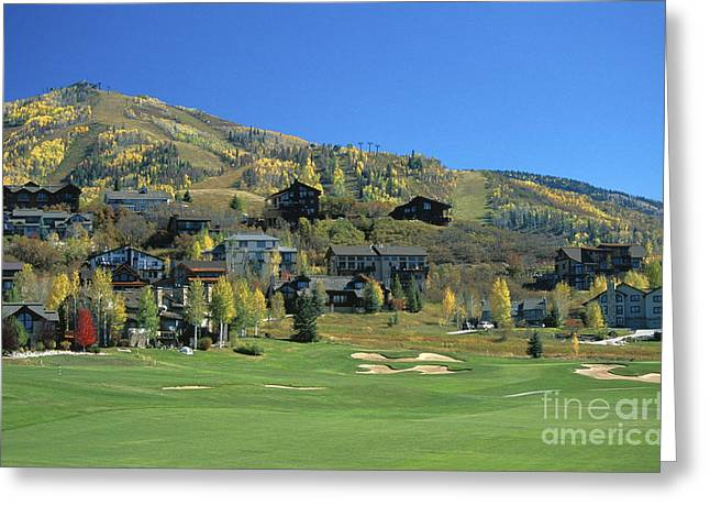 Rollingstone Ranch Greeting Card by Chris Selby
