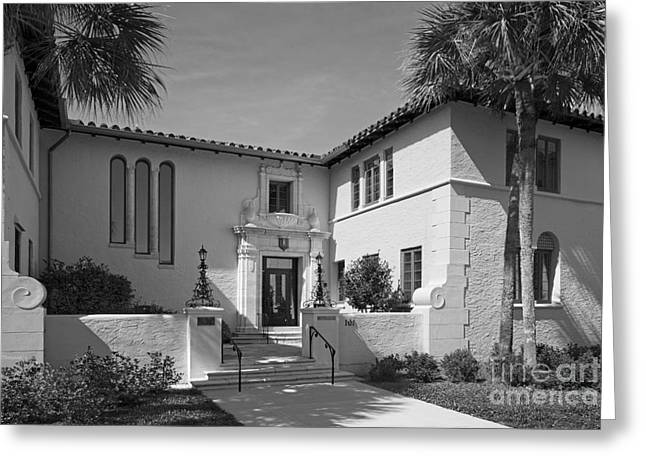 Rollins College Warren Administration Building Greeting Card by University Icons