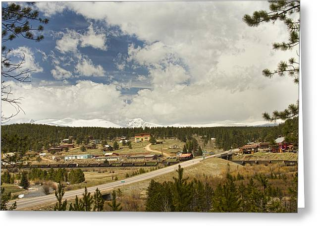 Small Town Prints Greeting Cards - Rollinsville Colorado Greeting Card by James BO  Insogna
