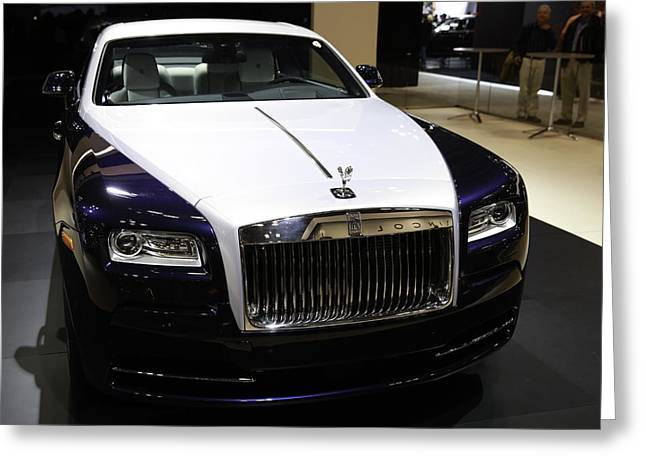 Rolls-royce Greeting Card by E Osmanoglu