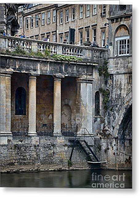 Roman Architecture Greeting Card by Svetlana Sewell