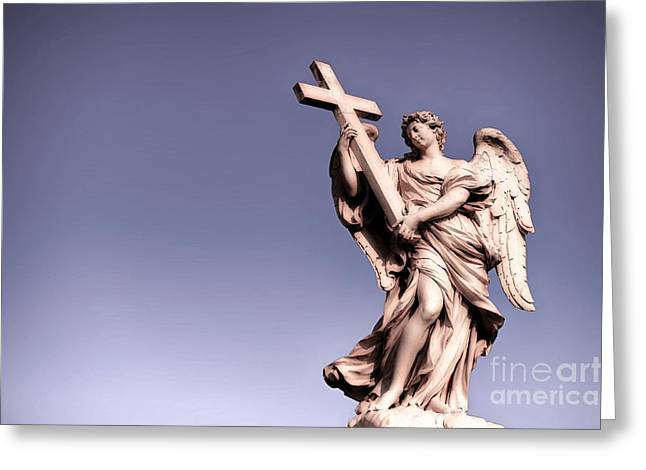 Italian Culture.italian Renaissance Greeting Cards - Roman Baroque Greeting Card by Stefano Senise
