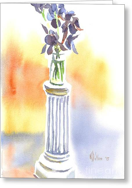 Roman Columns Greeting Cards - Roman Holiday Greeting Card by Kip DeVore