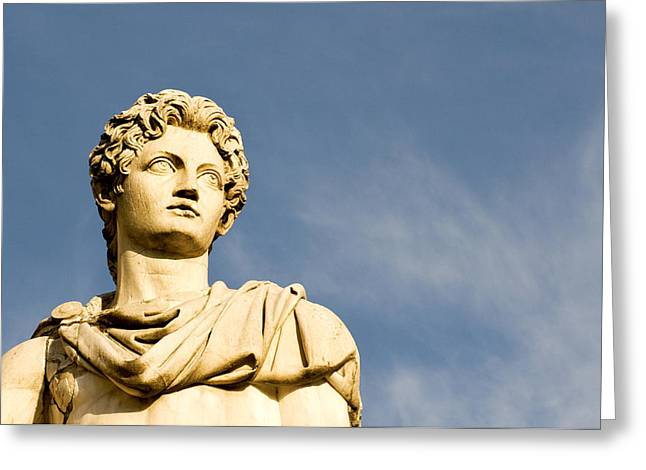 Pollux Greeting Cards - Roman Statue Greeting Card by Fabrizio Troiani