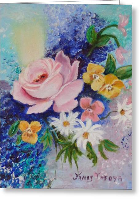 Wife Greeting Cards - Romance Greeting Card by Janis  Tafoya