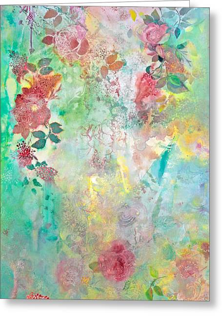 Print On Acrylic Greeting Cards - Romance Me Greeting Card by Brooks Garten Hauschild