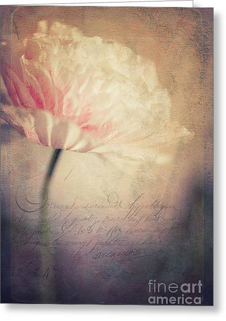 Poppyflowers Greeting Cards - Romance Greeting Card by Priska Wettstein