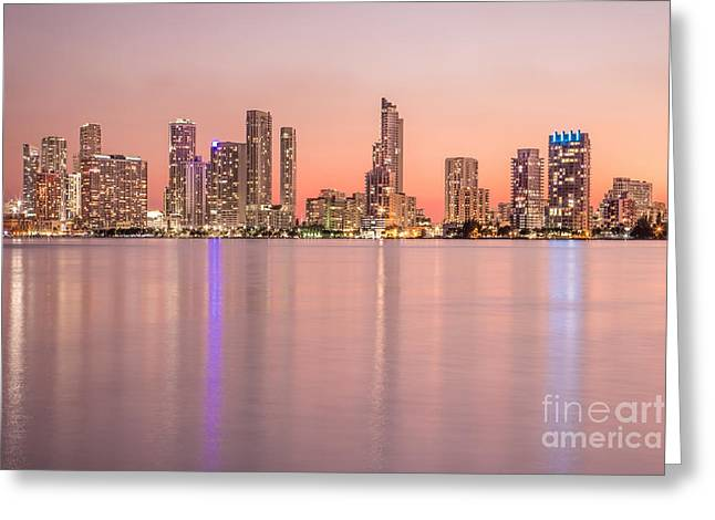 Miami Photographs Greeting Cards - Romancing The Light Greeting Card by Evelina Kremsdorf